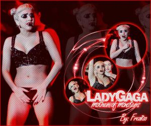 Lady Gaga by Freziitoo