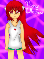 Happy Halloween by Lali-the-Bunny
