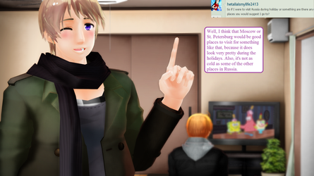 Ask RusAme Question 6: Places to go in Russia? by MMD-AskRusAme