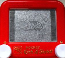 Nyan Cat etch a sketch GIF!!! by pikajane