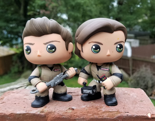 Ghostbuster Jensen  and Jared by LMRourke
