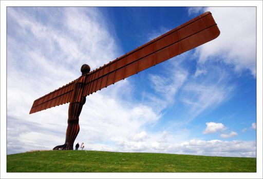 Angel of the North by br3w0k