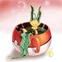 Leafeon Herbal Tea by Bean-Sprouts