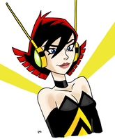 Wasp portrait by theEyZmaster