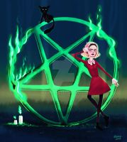 Chilling Adventures of Sabrina by AllaKoala