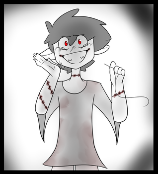 Goretober Day 3 (Stitches) by 5tar-Dust