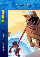 Ms. Marvel Special - Inhuman Flexibility by overpower-3rd