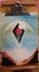 NoMansSky Watercolor by Thors-Hammer77
