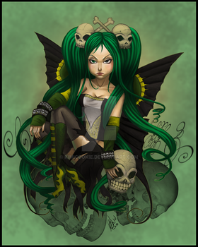 Green with Envy and Anger by KimiCookie
