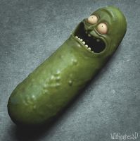 Pickle Rick by 90swil