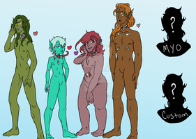 Icthandros Adopts, Customs, and MYOs! [OPEN] by PoppingTabs