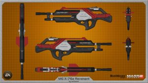 M-76e Revenant by rex3cutor