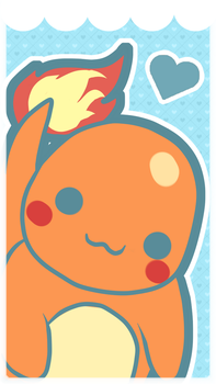 Charmander Phone Wallpaper by SeviYummy
