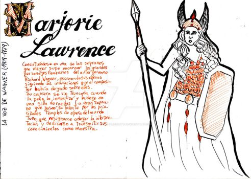 Marjorie Lawrence by Thepuredirty