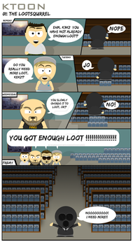 KToon #1 The Lootsquirrel by KAOZTAINMENT