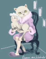 Cat Lady by eel-hips