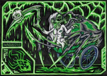 :CE: Vendrigas The Radioactive Drider (1ST PLACE) by AceOfSpeed94