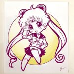 Chibi Sailor Moon by emiliosan