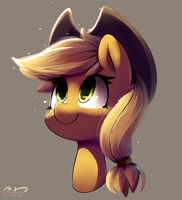 Apple by Bloodatius