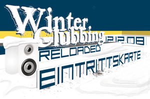 Winter Clubbing Entrance Card by reborn1024