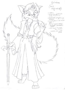 Art Request: Sytakan sketch by HHB-BookMaster