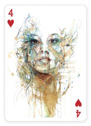 4 of Hearts by Carnegriff