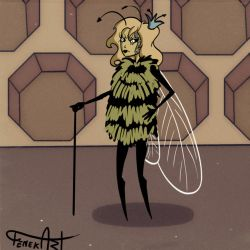 GIF Bee's Qeen by Rockdonia