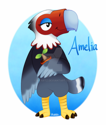 Amelia - Animal Crossing by BITARTZ