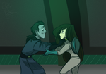 Dr D and Shego by WhiteBAG