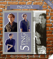 Johnny Depp Png Pack by Fuckthesch00l