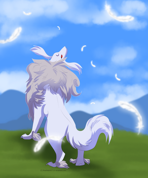 The Dog and the Wind by BlueHeart417