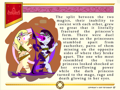 Another Princess Story - Split Person by Dragon-FangX