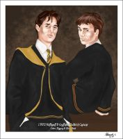 93 Quidditch Captains by slytherinfiend