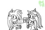 .:Collab:.- We Support Amy Rose by manicgirl155