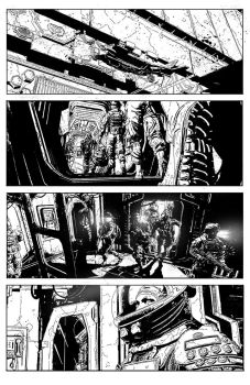 Aliens: Defiance #1 Page 5 by T-RexJones