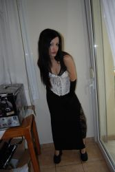 Gothic Girl1 by ftourini-stock
