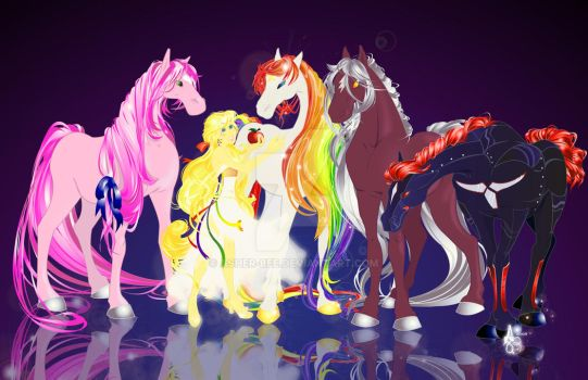 :Rainbow Brite and Company: by Asher-Bee