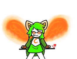 Davepeta (a gift for a friend) :Speedpaint: by Otto--Otter