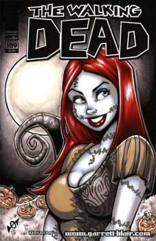 Sally bust sketch cover by gb2k