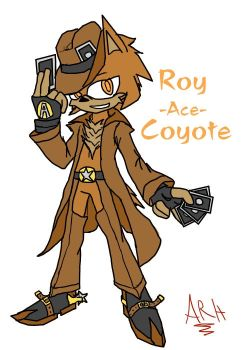 Ace the coyote by arh-adrian17