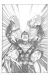 Superman Cover Pencil by anthonymarques