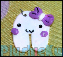 Kawaii tooth charm by MomoKiko