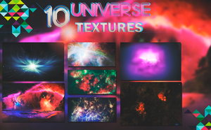 Universe Textures- Pack 3 (10 Photos) by DaniMonsterEditions