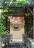 Practice-Flower shed by huanGH64