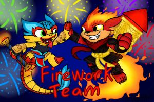Firework Team by HandyxRussell10