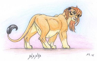 pregnant lioness by leovictor