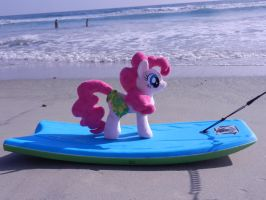 Heading out to boggieboard this is going to be fun by EquestriaPlush