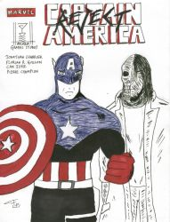 Captain America and Reject by FG-Arcadia