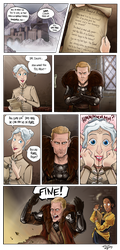 Dragon Age Imposition by TricksyWizard