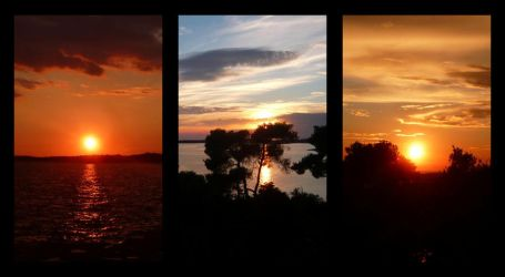 Istrian sunsets by Arrakis7